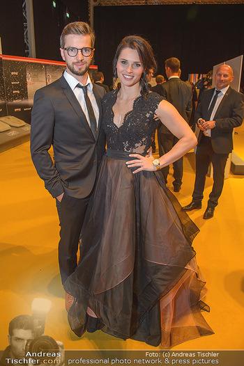 Sporthilfe Sportler des Jahres Gala - Marx Halle - Mi 31.10.2018 - Anna VEITH mit Ehemann Manuel51