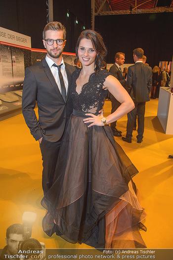 Sporthilfe Sportler des Jahres Gala - Marx Halle - Mi 31.10.2018 - Anna VEITH mit Ehemann Manuel52
