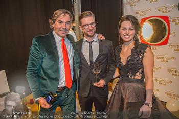 Sporthilfe Sportler des Jahres Gala - Marx Halle - Mi 31.10.2018 - Anna VEITH mit Ehemann Manuel, Hubertus HOHENLOHE55
