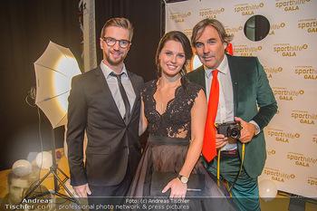 Sporthilfe Sportler des Jahres Gala - Marx Halle - Mi 31.10.2018 - Anna VEITH mit Ehemann Manuel, Hubertus HOHENLOHE56