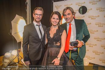 Sporthilfe Sportler des Jahres Gala - Marx Halle - Mi 31.10.2018 - Anna VEITH mit Ehemann Manuel, Hubertus HOHENLOHE57