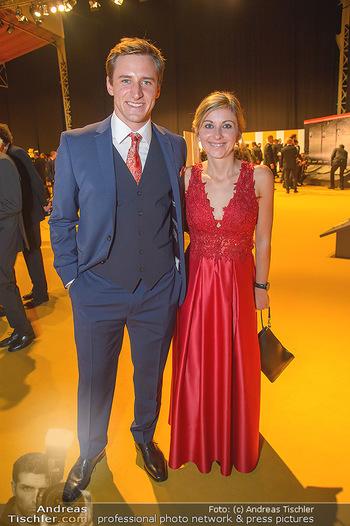 Sporthilfe Sportler des Jahres Gala - Marx Halle - Mi 31.10.2018 - Matthias MAYER mit Freundin Claudia60