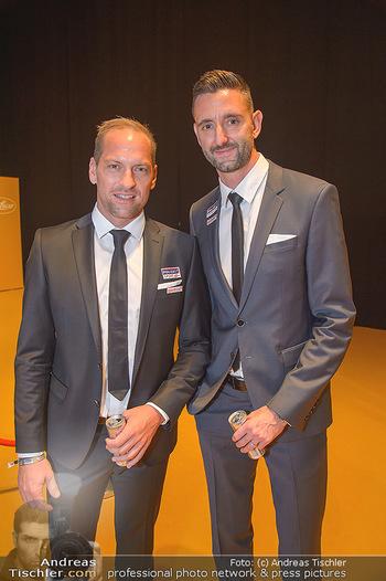 Sporthilfe Sportler des Jahres Gala - Marx Halle - Mi 31.10.2018 - Clemens DOPPLER, Alexander HORST62
