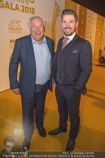 Sporthilfe Sportler des Jahres Gala - Marx Halle - Mi 31.10.2018 - Marcel HIRSCHER, Wolfgang FELLNER93