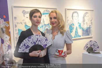 Meinl Fächerpräsentation - Galerie Ernst Hilger - Di 06.11.2018 - Maria YAKOVLEVA, Silvia SCHNEIDER1