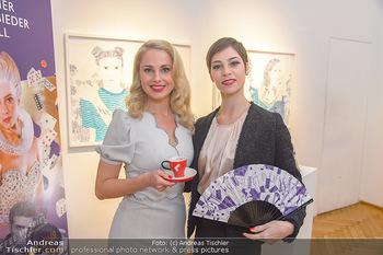 Meinl Fächerpräsentation - Galerie Ernst Hilger - Di 06.11.2018 - Maria YAKOVLEVA, Silvia SCHNEIDER7