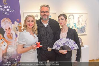 Meinl Fächerpräsentation - Galerie Ernst Hilger - Di 06.11.2018 - Maria YAKOVLEVA, Silvia SCHNEIDER, Cristof CREMER8