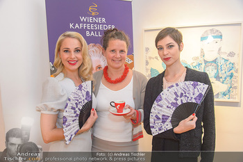 Meinl Fächerpräsentation - Galerie Ernst Hilger - Di 06.11.2018 - Maria YAKOVLEVA, Silvia SCHNEIDER, Anna KARNITSCHER9