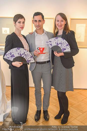 Meinl Fächerpräsentation - Galerie Ernst Hilger - Di 06.11.2018 - Maria YAKOVLEVA, Richard SZABO, Tanja FALTER29