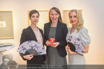 Meinl Fächerpräsentation - Galerie Ernst Hilger - Di 06.11.2018 - Maria YAKOVLEVA, Tanja FALTER, Silvia SCHNEIDER34