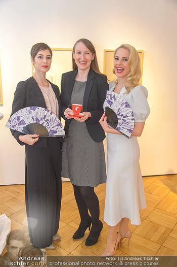 Meinl Fächerpräsentation - Galerie Ernst Hilger - Di 06.11.2018 - Maria YAKOVLEVA, Tanja FALTER, Silvia SCHNEIDER35