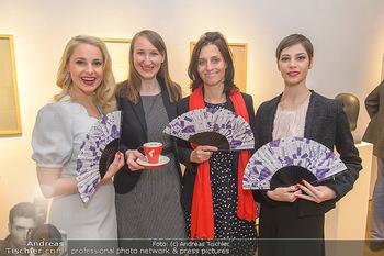 Meinl Fächerpräsentation - Galerie Ernst Hilger - Di 06.11.2018 - Maria YAKOVLEVA, Tanja FALTER, Silvia SCHNEIDER, Renate PETOVSKA38