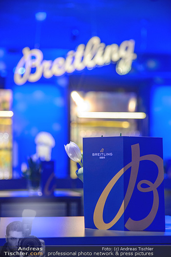 Breitling Premier Kollektion Präsentation - Palais Wertheim - Mi 07.11.2018 - 11