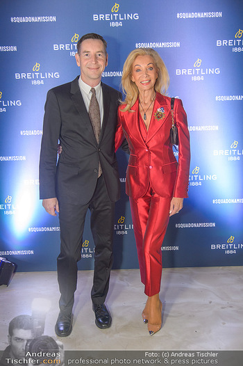 Breitling Premier Kollektion Präsentation - Palais Wertheim - Mi 07.11.2018 - Alexander und Elisabeth HIRNIGEL28