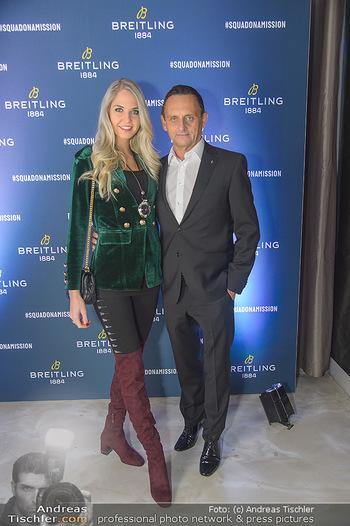 Breitling Premier Kollektion Präsentation - Palais Wertheim - Mi 07.11.2018 - Heimo TURIN, Beatrice KÖRMER33