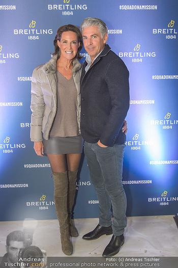 Breitling Premier Kollektion Präsentation - Palais Wertheim - Mi 07.11.2018 - Kathi STUMPF, Alex BEZA42