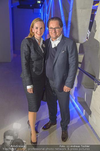 Breitling Premier Kollektion Präsentation - Palais Wertheim - Mi 07.11.2018 - Maria und Andreas GROßBAUER GROSSBAUER45