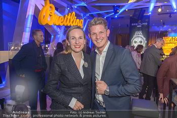 Breitling Premier Kollektion Präsentation - Palais Wertheim - Mi 07.11.2018 - Maria GROßBAUER GROSSBAUER, Thomas MORGENSTERN47