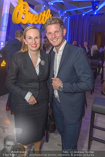 Breitling Premier Kollektion Präsentation - Palais Wertheim - Mi 07.11.2018 - Maria GROßBAUER GROSSBAUER, Thomas MORGENSTERN48
