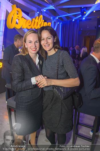 Breitling Premier Kollektion Präsentation - Palais Wertheim - Mi 07.11.2018 - Anelia PESCHEV, Maria GROßBAUER GROSSBAUER50