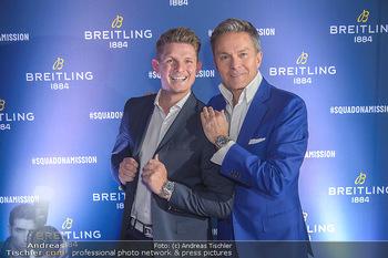 Breitling Premier Kollektion Präsentation - Palais Wertheim - Mi 07.11.2018 - Alfons HAIDER, Thomas MORGENSTERN89