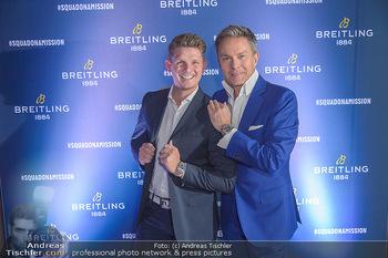 Breitling Premier Kollektion Präsentation - Palais Wertheim - Mi 07.11.2018 - Alfons HAIDER, Thomas MORGENSTERN90