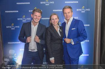 Breitling Premier Kollektion Präsentation - Palais Wertheim - Mi 07.11.2018 - Alfons HAIDER, Thomas MORGENSTERN, Maria GROßBAUER GROSSBAUER93