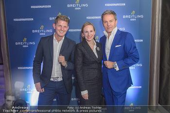 Breitling Premier Kollektion Präsentation - Palais Wertheim - Mi 07.11.2018 - Alfons HAIDER, Thomas MORGENSTERN, Maria GROßBAUER GROSSBAUER94