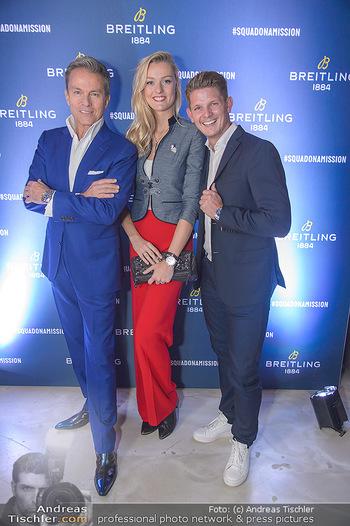 Breitling Premier Kollektion Präsentation - Palais Wertheim - Mi 07.11.2018 - Alfons HAIDER, Thomas MORGENSTERN, Miriam HÖLLER99