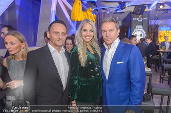 Breitling Premier Kollektion Präsentation - Palais Wertheim - Mi 07.11.2018 - Heimo TURIN, Beatrice KÖRMER, Alfons HAIDER102