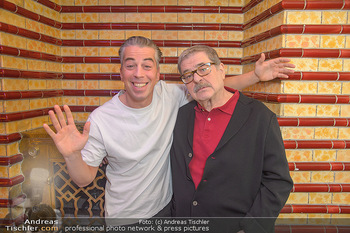 Premiere Vatermord - Rabenhof Theater - Do 15.11.2018 - Erwin STEINHAUER mit Sohn Matthias Franz STEIN10