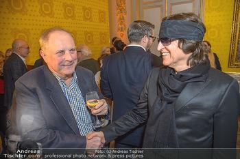 Erwin Wurm Ausstellungseröffnung - Albertina - Di 20.11.2018 - Gottfried HELNWEIN, Christian Ludwig ATTERSEE15