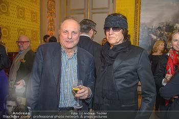Erwin Wurm Ausstellungseröffnung - Albertina - Di 20.11.2018 - Gottfried HELNWEIN, Christian Ludwig ATTERSEE16