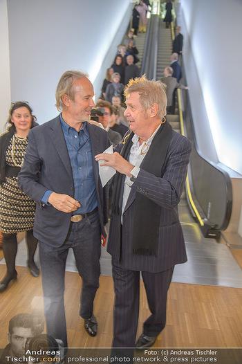 Erwin Wurm Ausstellungseröffnung - Albertina - Di 20.11.2018 - Erwin WURM, Wolf D. PRIX25