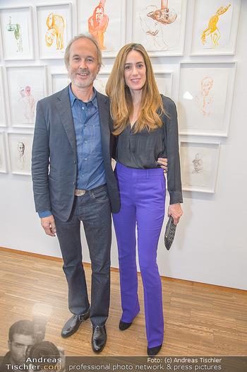 Erwin Wurm Ausstellungseröffnung - Albertina - Di 20.11.2018 - Erwin und Elise WURM33