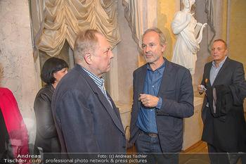 Erwin Wurm Ausstellungseröffnung - Albertina - Di 20.11.2018 - Christian Ludwig ATTERSEE, Erwin WURM36