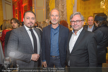 Erwin Wurm Ausstellungseröffnung - Albertina - Di 20.11.2018 - Klemens HALLMANN, Erwin WURM, Alexander WRABETZ43