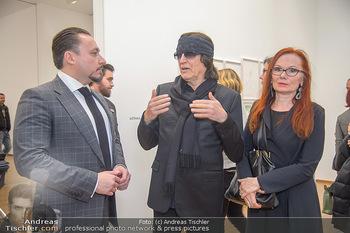 Erwin Wurm Ausstellungseröffnung - Albertina - Di 20.11.2018 - Klemens HALLMANN, Gottfried und Renate HELNWEIN52