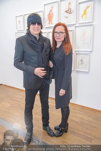 Erwin Wurm Ausstellungseröffnung - Albertina - Di 20.11.2018 - Gottfried und Renate HELNWEIN53