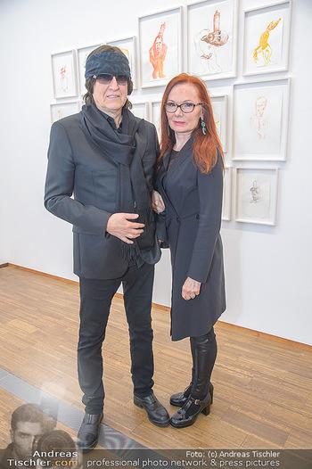 Erwin Wurm Ausstellungseröffnung - Albertina - Di 20.11.2018 - Gottfried und Renate HELNWEIN54