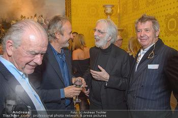 Erwin Wurm Ausstellungseröffnung - Albertina - Di 20.11.2018 - Rudi KLAUSNITZER, Erwin WURM, Michael HANEKE, Wolf D. PRIX57