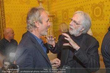 Erwin Wurm Ausstellungseröffnung - Albertina - Di 20.11.2018 - Erwin WURM, Michael HANEKE58