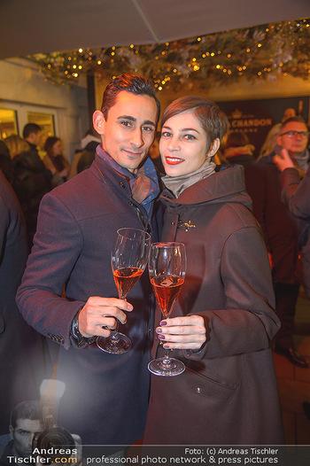 Moet & Chandon Wintergarten Opening - Park Hyatt Wien - Mi 21.11.2018 - Maria YAKOVLEVA, Richard SZABO11