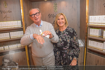Master Lin Meaningful Luxury - MQ Museumsquartier, Wien - Mo 26.11.2018 - Reinhard KÖCK mit Ehefrau Rosi22