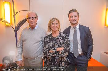 Master Lin Meaningful Luxury - MQ Museumsquartier, Wien - Mo 26.11.2018 - Familie Reinhard KÖCK mit Ehefrau Rosi und Sohn Felix40