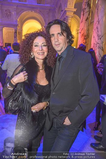 AFA - Austrian Fashion Awards - Weltmuseum - Di 27.11.2018 - Christina LUGNER, Josef WINKLER26