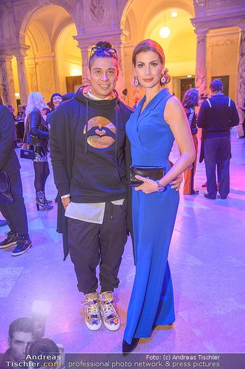 AFA - Austrian Fashion Awards - Weltmuseum - Di 27.11.2018 - Carmen STAMBOLI, Alexis FERNANDEZ34