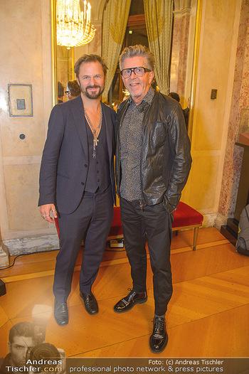 Philipp Hochmair Albumpräsentation - Burgtheater - Do 29.11.2018 - Philipp HOCHMAIR, Gerhard KRISPL12