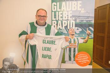Glaube. Liebe. Rapid. Buchpräsentation - Club Stephansplatz 4 - Mi 05.12.2018 - Rapid-Pfarrer Christoph PELCZAR7