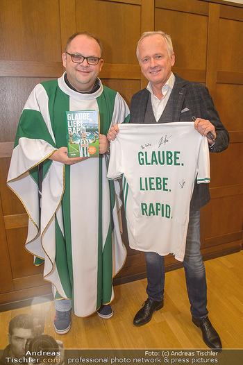 Glaube. Liebe. Rapid. Buchpräsentation - Club Stephansplatz 4 - Mi 05.12.2018 - Rapid-Pfarrer Christoph PELCZAR, Andy MAREK9
